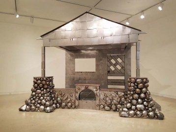 "Beatriz Cortez. California-Pacific Triennial, ""Building as Ever,"" curated by Cassandra Coblentz, at the Orange County Museum of Art, Newport Beach, California. Photo Credit Kristine Schomaker."