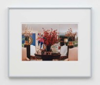 "William E. Jones ""Villa Iolas (Kenneth Noland, Niki de Saint Phalle, Roman Glass),"" 1982/2017 hand-coated inkjet print 16 x 20 inches (40.6 x 50.8 cm) framed: 20 x 24 x 1 1/2 inches (50.8 x 61 x 3.8 cm) Edition of 6 with 2 AP Photography: Lee Thompson Courtesy of David Kordansky Gallery, Los Angeles, CA and The Modern Institute, Glasgow, Scotland"