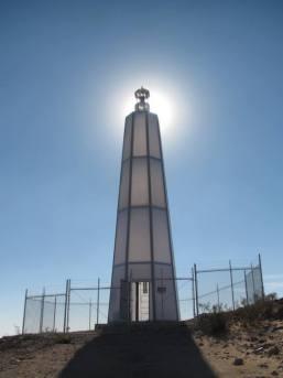 Desert Lighthouse. Mojave Desert. Daniel Hawkins. Photos courtesy of the artist