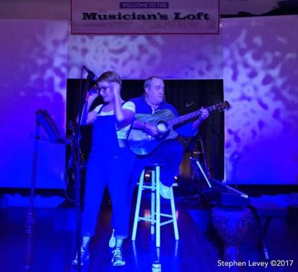 Musician's Loft. Brewery Artwalk and Open Studios Fall 2017. Photo Credit Stephen Levey