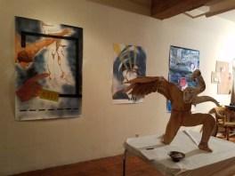 Stacey Wexler. DTLA Long Beach Ave. Lofts Open Studios. Photo Credit Kristine Schomaker