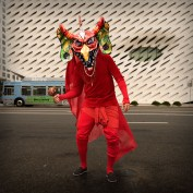 Basura (at the broad). Cristobal Valecillos. Yare: One More Dance. Timothy Yarger Fine Art. Photo Courtesy of the Gallery.