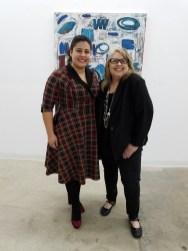 Curators Alanna Marcelletti and Dani Dodge. Static. Durden and Ray. Photo Credit: Kristine Schomaker