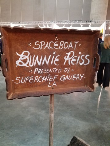 Bunnie Reiss. LA Art Show 2018. Los Angeles Convention Center. Photo Credit Kristine Schomaker