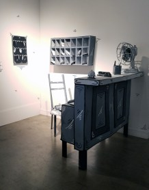 DOSSHAUS Paper Thin Hotel at Corey Helford Gallery. Photo credit: Kristine Schomaker.