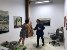 Alexa Cilweit in Keystone Art Space Open Studios June 2018
