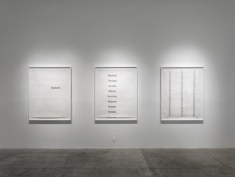 Deborah Roberts, Fragile but Fixable, Installation, at Luis De Jesus Los Angeles. Photo courtesy of the gallery.