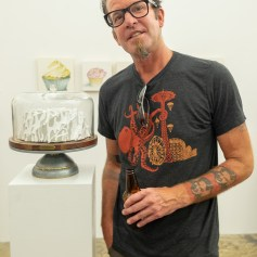 Steve Seleska. PØST: Kamikaze - Let Me Eat Cake. Photo credit Debe Arlook