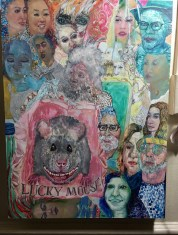 Jodi Bonassi in Studio System 2 at Torrance Art Museum. Photo courtesy of the artist.