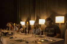 Dinner Party. Wonderspaces: With Creative License. Photo Credit Adam Elmakias