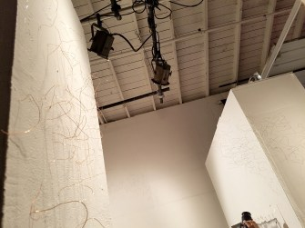 Chenhung Chen. Dialectic of Being and Becoming: Realization at of Fullness, curated by Khang Bao Nguyen. At the 18th Street Art Center. Photo credit: Kristine Schomaker.