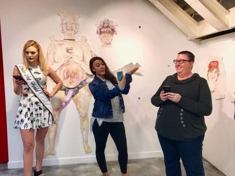 Sheli Silverio, Be A Lady, Shoebox Projects; Photo credit Genie Davis