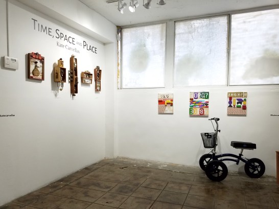 Kate Carvellas; Space, Time and Place; Gabba Gallery; Photo Credit Kristine Schomaker