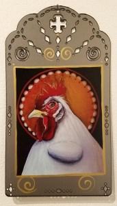 Christina Miller, Blinky the Friendly Hen, CSUN Art Gallery; Photo Credit: Kristine Schomaker