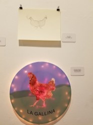 Jane Callister Cintia Segovia, Blinky the Friendly Hen, CSUN Art Gallery; Photo Credit: Kristine Schomaker