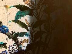 Michele Asselin, Wallpaper 44 (detail), Commons, there-there; Photo credit Shana Nys Dambrot