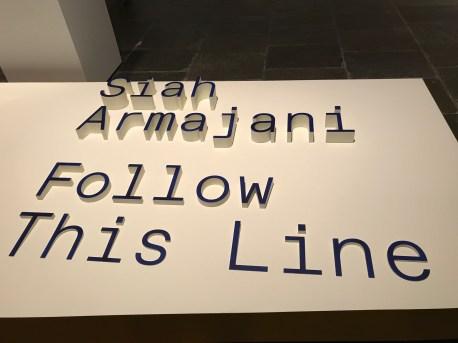 Siah Armajani, Follow This Line,Met Breuer; Photo credit Genie Davis