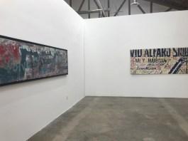 Alfredo Romero, Vestiges of Our Times, Simard Bilodeau Contemporary; Photo credit Genie Davis