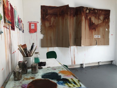Claremont Graduate University MFA Open Studios. Jill Steggall. Photo credit: Chelsea Boxwell.