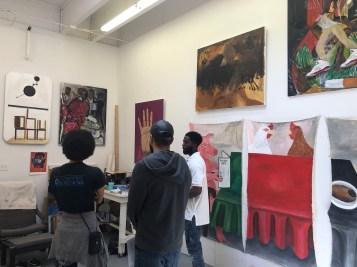 Claremont Graduate University MFA Open Studios. Jonah Jackson. Photo credit: Chelsea Boxwell.