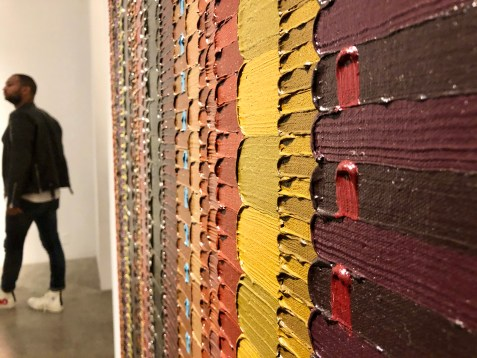 June Edmonds, detail, Allegiances and Convictions, Luis De Jesus; Photo credit Shana Nys Dambrot