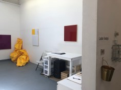 Claremont Graduate University MFA Open Studios. Ladan Sedighi. Photo credit: Chelsea Boxwell.
