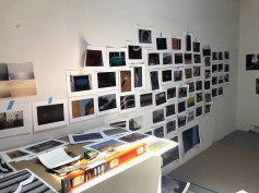Claremont Graduate University MFA Open Studios. Qianqian Yang . Photo credit: Chelsea Boxwell.