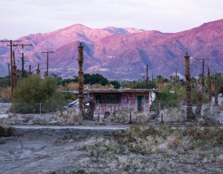 Diane Cockerill, Sunrise Salton Sea; Image courtesy of the artist