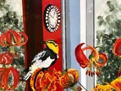 Kirsten Everberg, Western Lilies (detail), Life Still, 1301PE; Photo credit Shana Nys Dambrot
