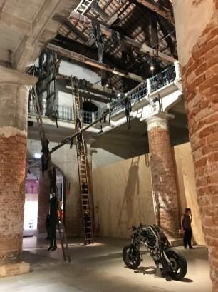 Alexandra Bircken, Venice Biennale; Photo credit Sydney Walters