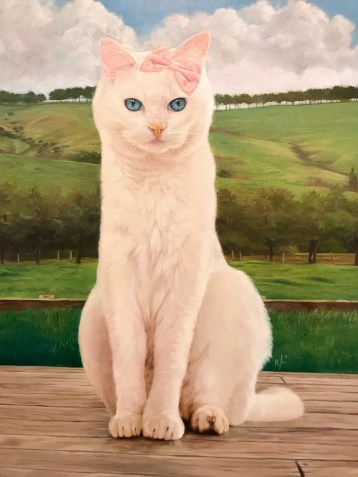 Nate Frizzell, Hello, Hello Kitty Show, Corey Helford Gallery; Photo credit Genie Davis