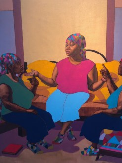 Ja'Rie Gray, Narrative Painting in Los Angeles, Craig Krull Gallery; Photo credit Betty Brown