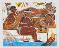 Monica Kim Garza, Resort, Punch Curated by Nina Chanel Abney, Jeffrey Deitch; Photo credit Elon Schoenholz