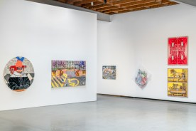 Punch Curated by Nina Chanel Abney, Jeffrey Deitch; Image courtesy of the gallery