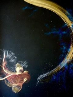 Joanne Julian, Star Serpent, Night Flights, Vita Art Center; Image courtesy of the artist