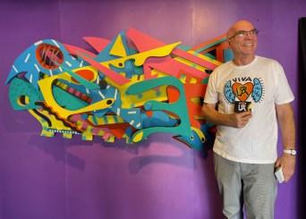 Andre Miripolski, Brewery Artwalk; Photo Credit Dani Dodge