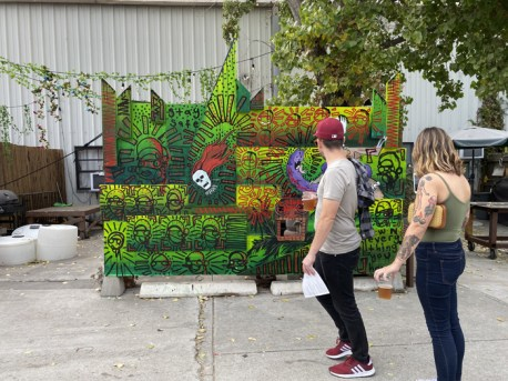 Brewery Artwalk; Photo Credit Dani Dodge