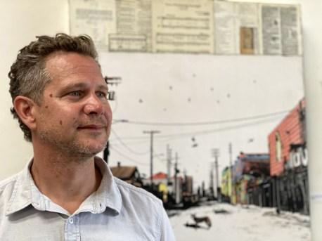 Patrick Haemmerlein, Brewery Artwalk; Photo Credit Dani Dodge