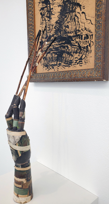 Christine Kline, LA Painting, MOAH; Photo credit Kristine Schomaker