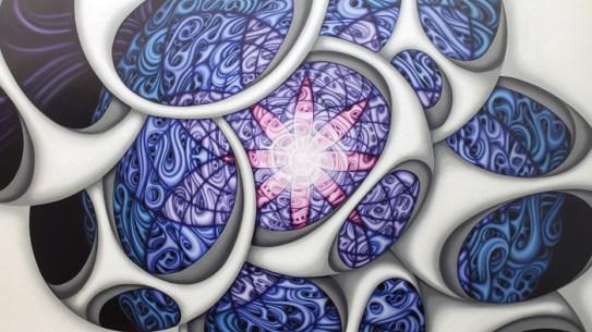 Erika Lizée, LA Painting, MOAH; Photo credit Kristine Schomaker