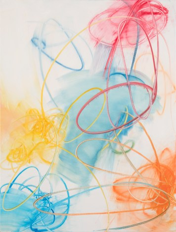 Mark Sheinkman, Shepherd, New Paintings 2019, Von Lintel Gallery; Image courtesy of the gallery