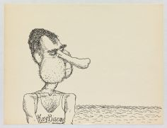 ©Philip Guston, Untitled, 1971, Resilience: Philip Guston in 1971, Hauser & Wirth Los Angeles; Image courtesy of the gallery