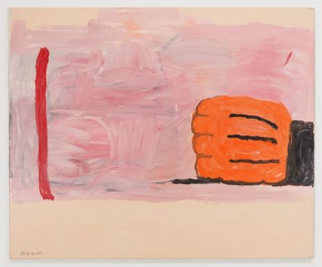 ©Philip Guston, Hand and Stick, 1971, Resilience: Philip Guston in 1971, Hauser & Wirth Los Angeles; Image courtesy of the gallery