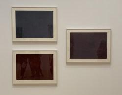 Constance Mallinson. Untitled #11, 15, and 12, With Pleasure: Pattern and Decoration in American Art 1972–1985, MOCA Grand Avenue; Photo credit David S. Rubin