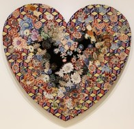 Miriam Schapiro, Heartland, With Pleasure: Pattern and Decoration in American Art 1972–1985, MOCA Grand Avenue; Photo credit David S. Rubin