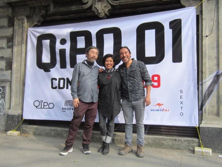 04. QiPO 01 Team. Ichiro Irie. Laura Resendiz. Horacio Cadzco