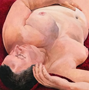 Betzi Stein, Lustful Daydreaming, Perceive Me, Ronald H. Silverman Fine Arts Gallery; Image courtesy of the artist