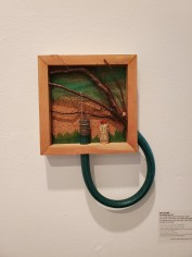 Hilary Norcliffe, The Giving Tree #3, St. Broxville Wood: Into the Thicket, Kellogg University Art Gallery; Photo credit Sydney Walters