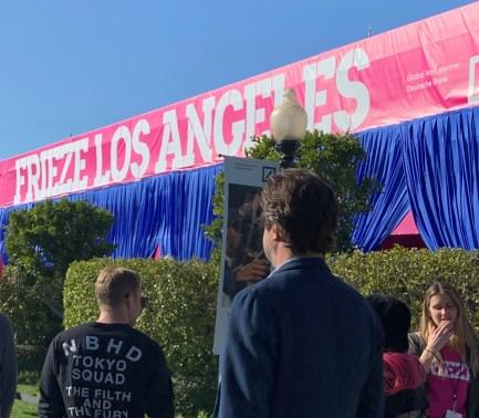 Frieze LA; Photo credit Nancy Kay Turner
