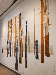Jennifer Gunlock, Urban Interface, St. Broxville Wood: Into the Thicket, Kellogg University Art Gallery; Photo credit Sydney Walters